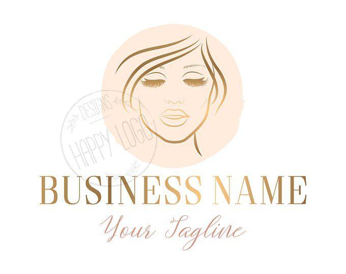 DIGITAL Custom logo design lashes logo crown lash beauty