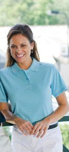 Proline PL07273NYWT006 FAIRWAY WOMENS 7273 NAVY-WHITE 2XL by Proline-brush. $30.50. Innovative - will enhance your well being.. Our fashion forward Jacquard Pro-knit body with single-edge stripe trim features a two-button placket with dyed to match buttons, locker patch, double needle top-stitching, twill taping in neck and vents with special Tuck Hold patch for better tucking, ul. Save 23%!