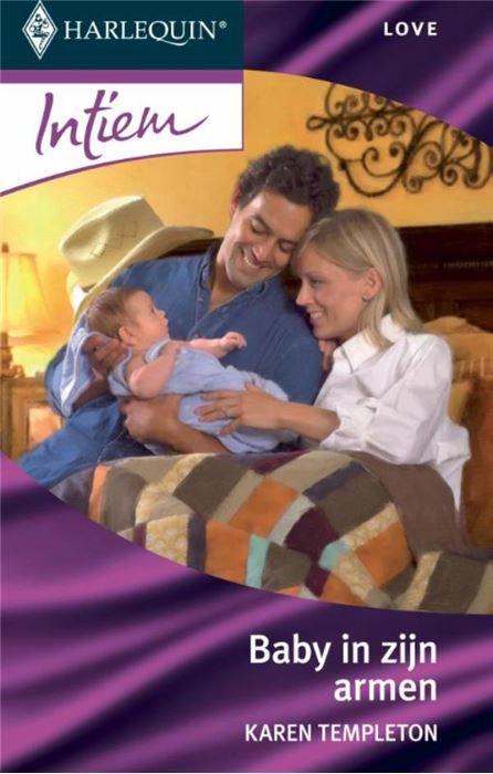 Baby in zijn armen  Durft Tina eindelijk haar ex John te vertellen dat ze zwanger van hem is komt zijn dochter met het nieuws dat ook zíj een kind verwacht! Dat zal hem niet bepaald milder stemmen. Ooit waren ze een perfect stel. In bed dan want deze stoere rancher is niet het type dat zich makkelijk bindt en hij gaat alles wat lijkt op vastigheid angstvallig uit de weg. Nu zijn tienerdochter moeder wordt kan hij Tina en hun baby er zeker niet bij hebben. Ze is dan ook verbijsterd als hij…