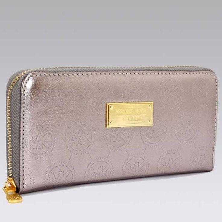 MICHAEL Michael Kors Jet Set Continental champagne Wallet
