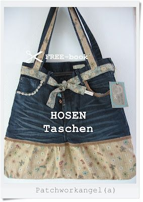 "PATCHWORKangel(a): FREEbook ""HOSENTaschen""...                              …"