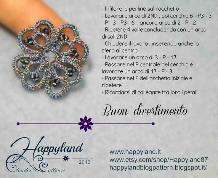 Little clover with S-Dream thread by www.happyland.it