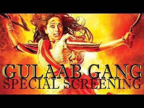 'Gulaab Gang' Movie Special Screening   Madhuri Dixit ,Juhi Chawla