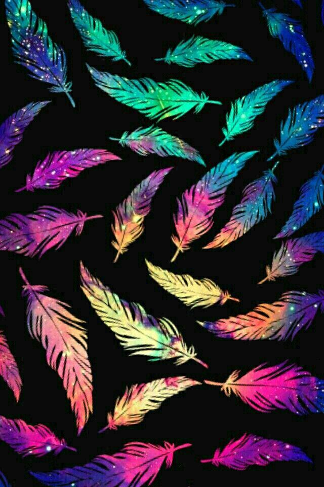Fondo plumas