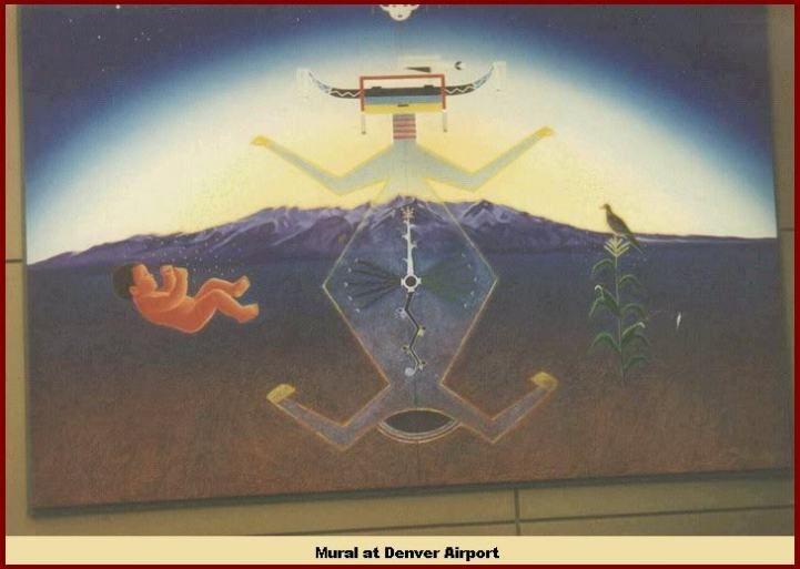 Denver airport art picture pinterest for Dia mural artist