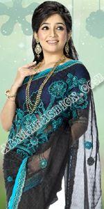 Black Jacket Moslin Dhakai Jamdani Saree, Eid Collection 2014, Saree, Sharee, Sari, Bangladeshi Saree