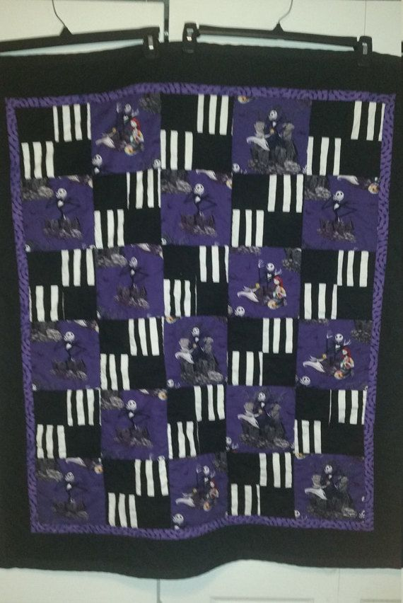 89 best nightmare before christmas quilt basket images on ... : nightmare before christmas quilt - Adamdwight.com