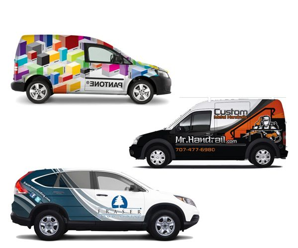 Best Vehicle Graphics Images On Pinterest Vehicle Wraps Car - Custom car decal advertising