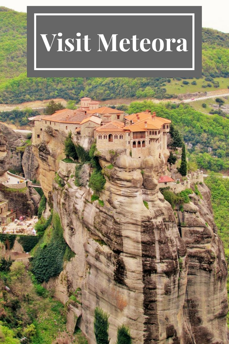Where to stay when you visit Meteora in Greece