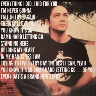 Chris Perez lyrics of a song written for Selena Quintanilla Perez