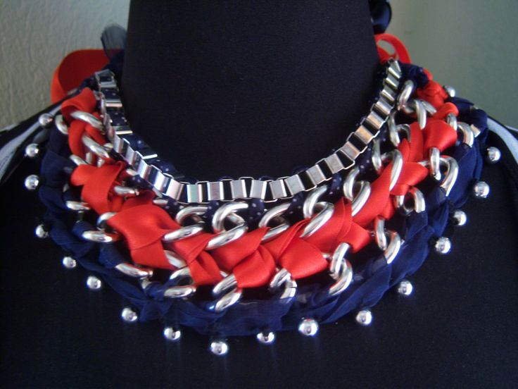 braided necklace chains