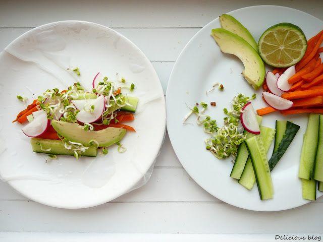 Delicious blog: Čerstvé jarní závitky