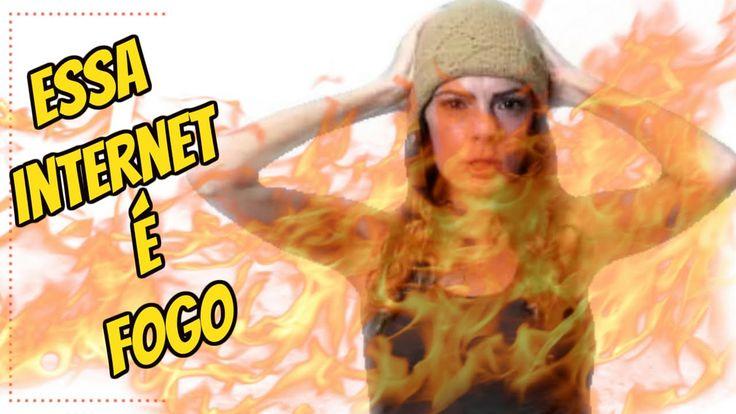 Internet Porcaria - Não abandonei o canal   Luciana Queiróz
