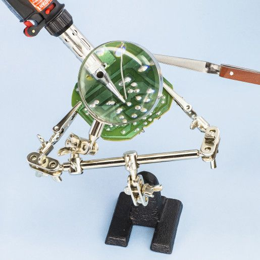 Model Craft - Helping hand with glass magnifier | Maplin