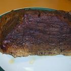 Rump roast, cut back on pepper, I added some red wine and Worcestershire and garlic cloves. Super good!
