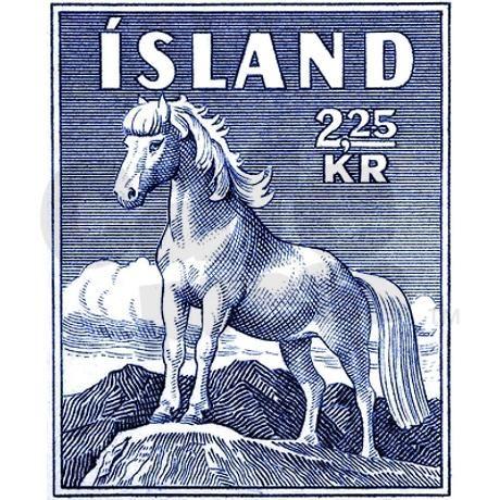 Iceland 1958 Icelandic Horse Postage Stamp Return