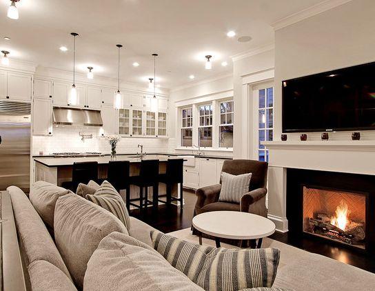 51 Best Kitchen Living Room Combo Images On Pinterest