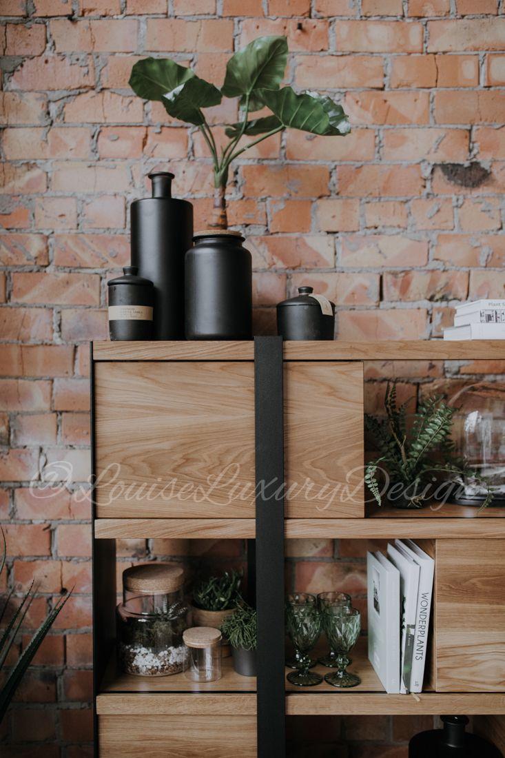 Industrial Book Shelf Oak Wood Bookshelf Rustic Metal Bookcase Furniture Wall Living Room Storage In 2018