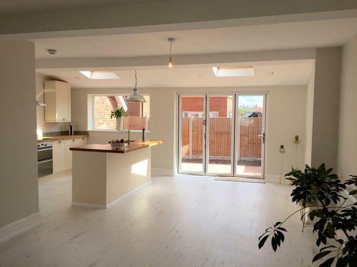 Open plan kitchen extension – #extension #kitchen …