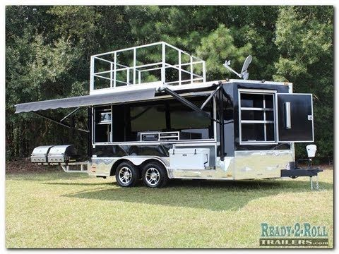 Electric Awning Video - Tailgate Trailers & Custom Trailers Accessories, Options & Ideas - Tailgating Trailers and Marketing Trailers Done Right - You Dream ...