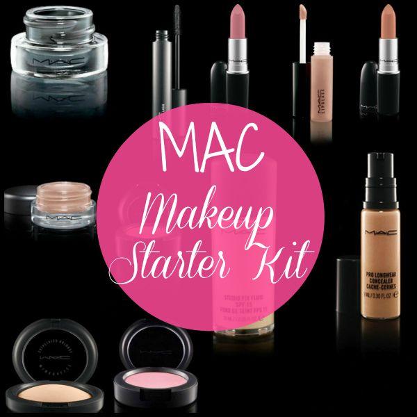 Makeup Starter Kit: MAC  via @Ange