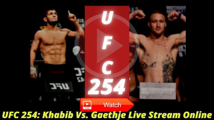 Official Livestream Ufc 254 Khabib Vs Gaethje Live Streams Reddit In 2020 Online Streaming Ufc Streaming