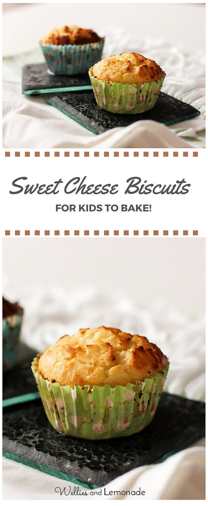 Delicious, one bowl recipe sweet cheese biscuits which you will enjoy baking with your little one! find it over at http://www.welliesandlemonade.com/recipe/sweet-cheese-biscuits-kids-bake