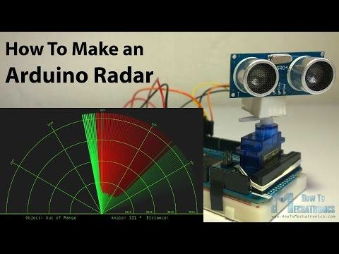 How to Make an Arduino Radar - HowToMechatronics