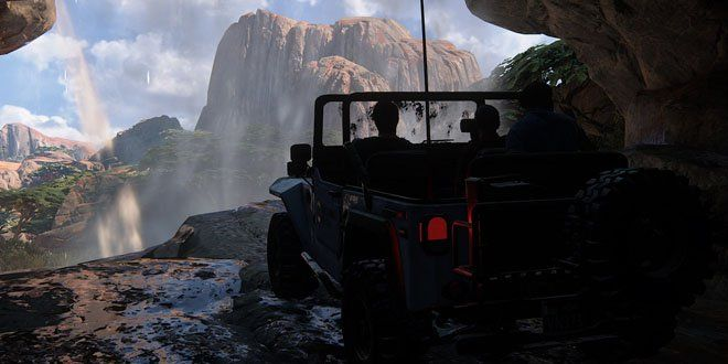 New Uncharted 4 Trailer Shows-Off Driving, Stealth, and Open World Hub - https://techraptor.net/content/new-uncharted-4-trailer-showcases-driving-mechanics | Gaming, News