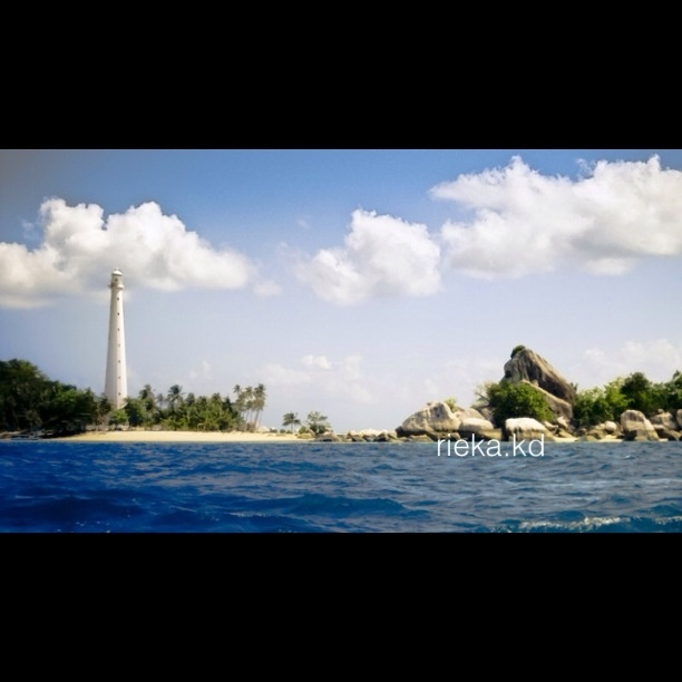 Lengkuas Island Lighthouse, Belitung, Indonesia