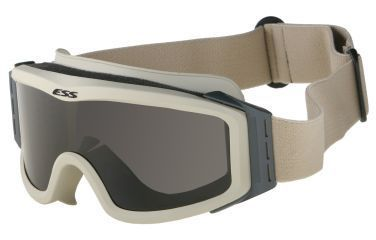 ESS Profile NVG Goggles Desert Tan with Clear and Gray Lenses and Stealth Sleeve