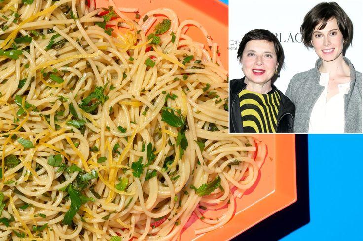 How Hollywood royalty makes spaghetti | New York Post