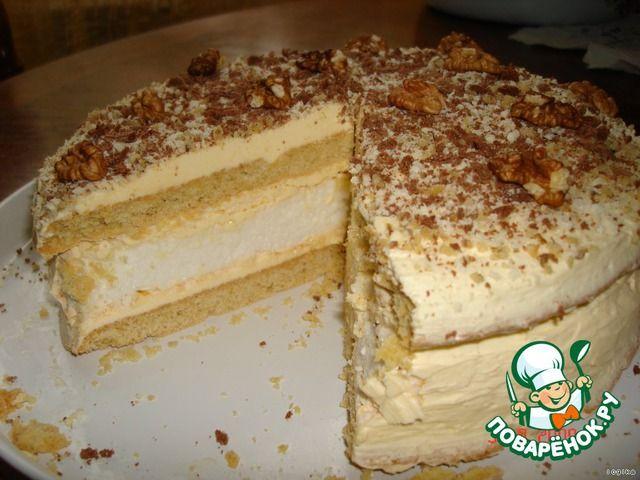 Торт «Первый поцелуй» - кулинарный рецепт