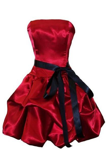 red bridesmaid dresses | ... Bubble Red Bridesmaid Dress for Junior Plus Size | Bridesmaid Dresses