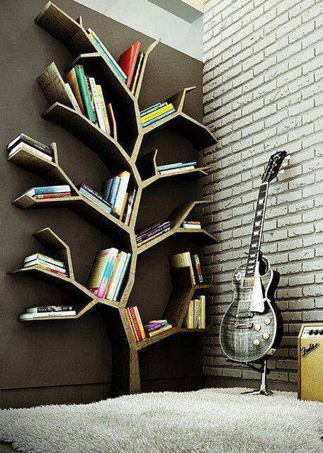 Tree bookshelf ideas