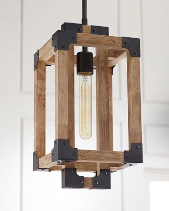 Wooden mini pendant light at horchow mini pendant lightspendant