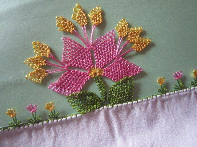 Hobilendik - Kadın Dünyası ve Hobileri: İğne Oyası Bahar Çiçeği Yapımı