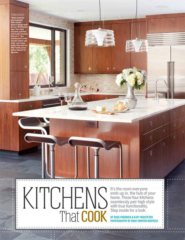 Kitchens That Cook | 5280 #decor #5280Home #Kitchens