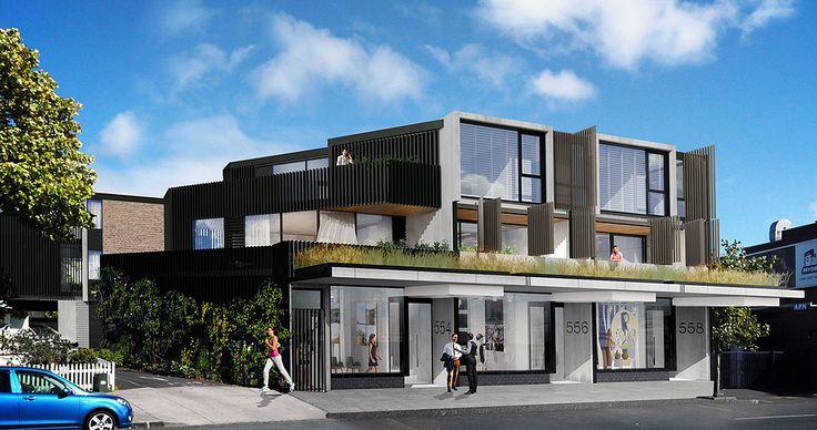 Barrington new apartments in Grey Lynn