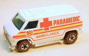 Vintage Hot Wheels Redline Paramedic
