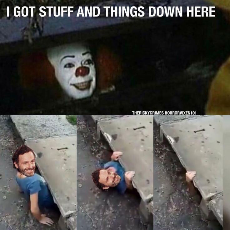 The walking dead. Rick Grimes funny meme