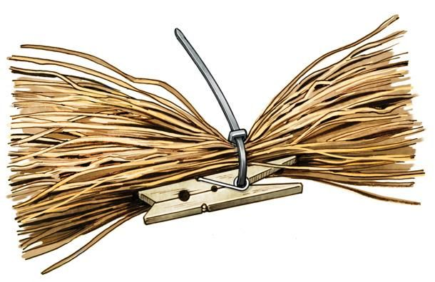 Skip the middleman and grass your boat or blind on the cheap. Buy in Bulk The Joseph M. Stern Co. (jstern.com) imports most of the raffia available here in the U.S. It's the supplier to Avery and Cabela's but will happily sell to Joe B. Duckhunter with a minimum order of 25 pounds. At $3.50 a pound that comes to $87.50, plus freight. Twenty-five pounds will easily cover an 18-foot duck boat. (I covered my 131⁄2-foot Four Rivers layout boat with 15 pounds last year.) Still, if you think…