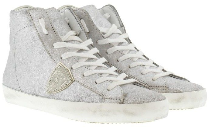 Philippe Model Sneakers - Classic H D Mixage Sneaker Sky/Silver -