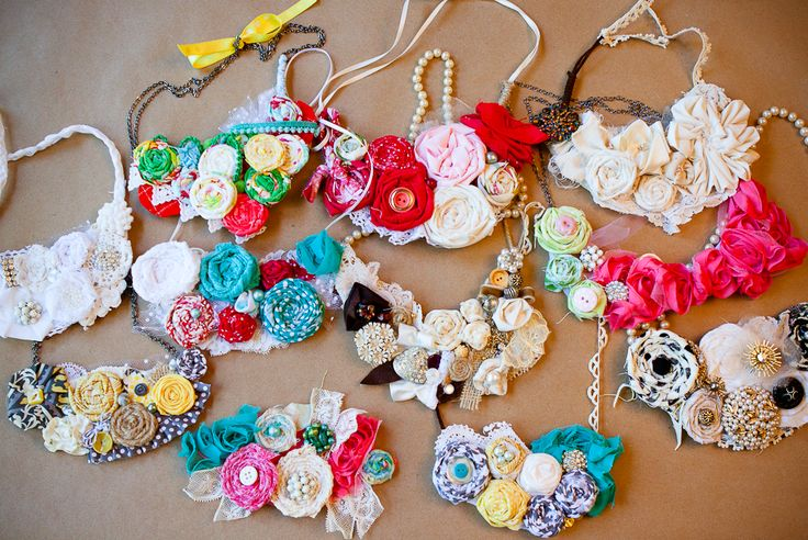 homemade necklaces @Michelle Flynn Redfield makes me think of you :)