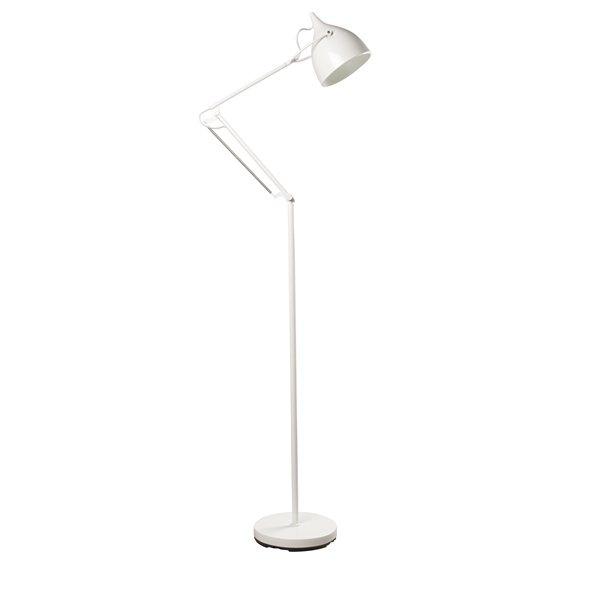als alternatief voor een nachtlampje, zou je twee van zulke lampen aan weerszijden naast je bed kunnen zetten... geeft de ruimte ook wat hoogte.. :-)