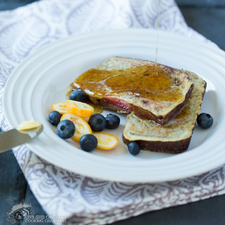 {Paleo} French Toast by the Civilized Caveman. So amazing! The bread is probably Whole30-compliant... so I can make it in January without blowing Whole30. Yes!