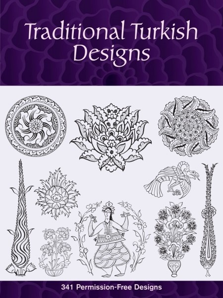 Traditional Turkish Designs, via Dover, downloadable version, $7.99