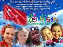 Ulusal Egemenlik ve Çocuk Bayramı ile ilgili görsel sonucu