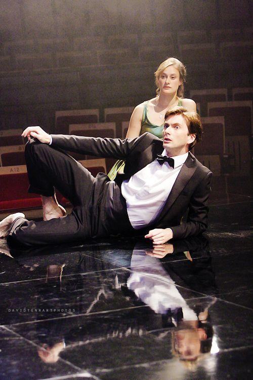 2008 - 'Hamlet' David Tennant and Mariah Gale as the Prince and Ophelia