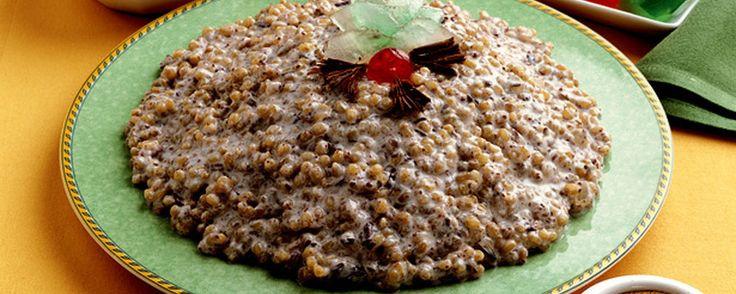 Ricetta: Cuccia dolce #arancinaday #arancina #santalucia